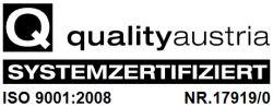 DIN ISO 9001:2008 Zertifizierung